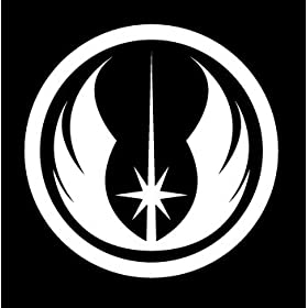 Star Wars Car Window Decal - Jedi Order