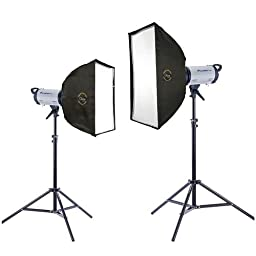 Flashpoint Softbox Duo-Light 620M 2 MonoLight Kit