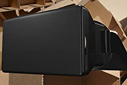 Domo For Apple Iphone, Samsung, Redmi Mi Note Xiaomi, Letv, Coolpad, Huawei, Lenovo, Lg And All Other Smart Phones Upto 4 To 5.7 Screenvirtual Reality 3D And Video Headset