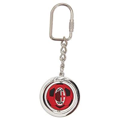 AC Milan Official Metal Football Spinner Keyring