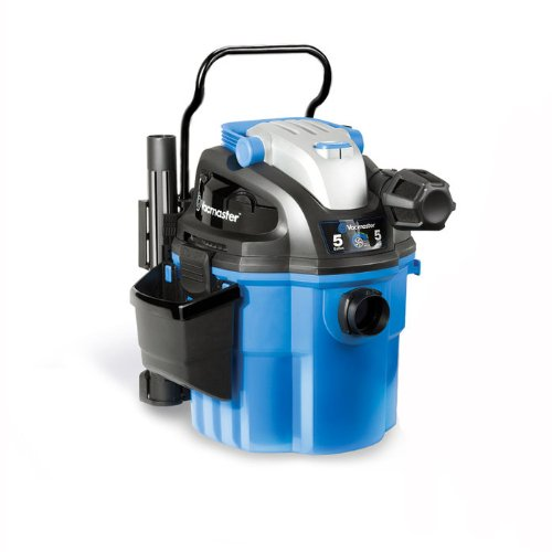 Why Should You Buy Vacmaster VWM510 Wall Mount Wet/Dry Vacuum Powered by Industrial 2-Stage Motor wi...