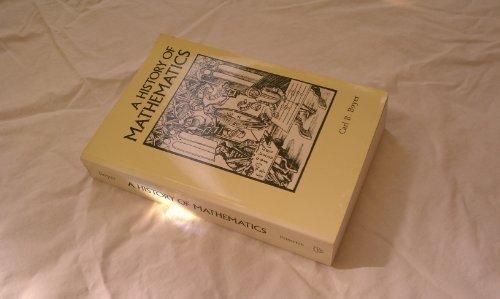 A History of Mathematics, Boyer, Carl Benjamin