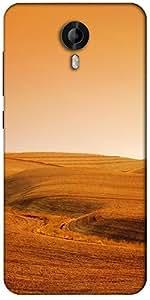 Snoogg Desert Background Designer Protective Back Case Cover For Micromax Canvas Nitro 3 E455