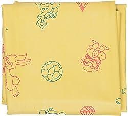 Yellow Waterproof Pure Rubber Sheet