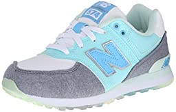New Balance KL574P Deep Freeze Pack Classic Running Shoe (Little Kid), Artic Blue/Grey, 1.5 M US Little Kid