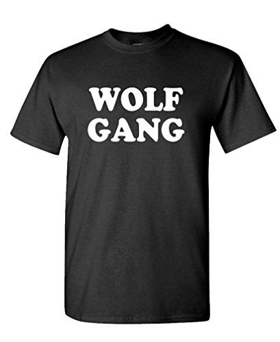 Wolf Gang - Funny Hip Hop Rap Donuts Tee Shirt T-Shirt, M, Black