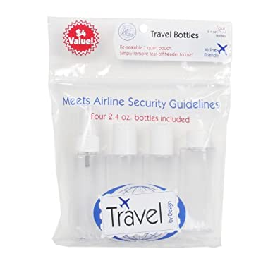 Product Image Travel by Design Apothecary Travel Bottles 4-pk. - 2.4 oz.