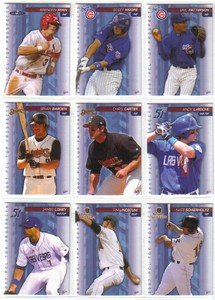 2007 PCL Top Prospects Florida Marlins Team Set 2 cards MINT by Multi-Ad