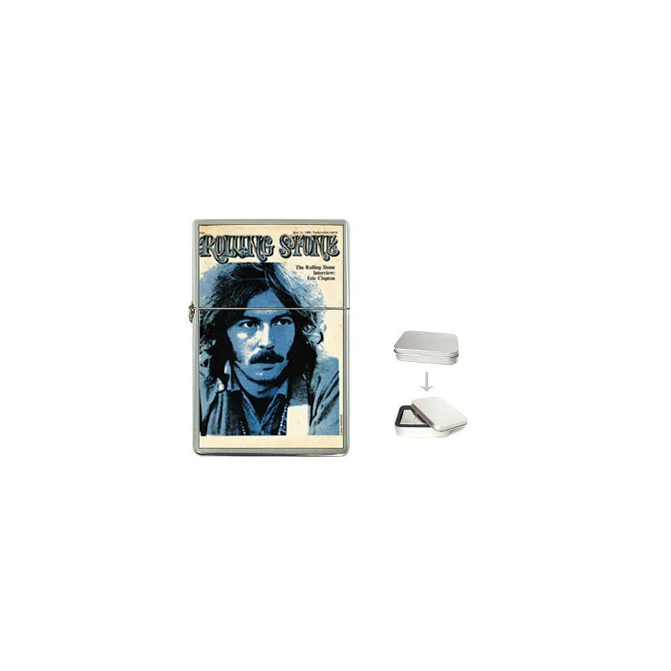 1968 Clapton Rolling Stone Cover Flip Top Lighter