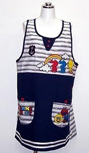 Elmo applique apron apron Sesame Street character 22333015 (japan import)