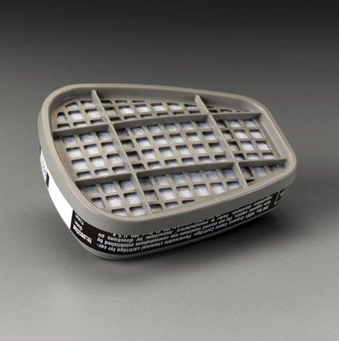 White R8736 1// Pack 3m Odor Relief Respirator