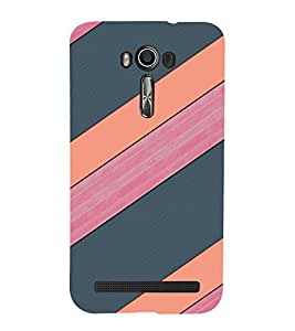 EPICCASE pink and grey Mobile Back Case Cover For Asus Zenfone 2 Laser ZE550KL (Designer Case)