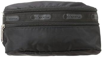 LeSportsac Double Zip Belt Bag,Black,One Size