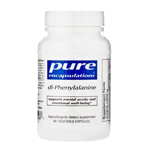 Pure Encapsulations - Dl-Phenylalanine 90 Vegicaps
