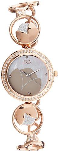 Titan-Raga-Analog-Mother-of-Pearl-Dial-Womens-Watch-2539KM01