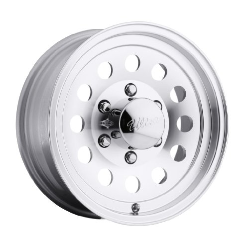 Ultra Wheel 062 Smooth Mod Silver Wheel with Machined Finish  (15x6