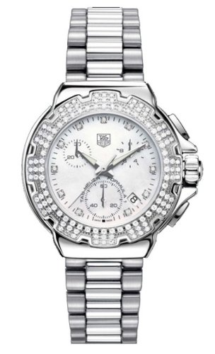 TAG Heuer Women's CAC1310.BA0852 Formula 1 Diamond Accented Chronograph Watch