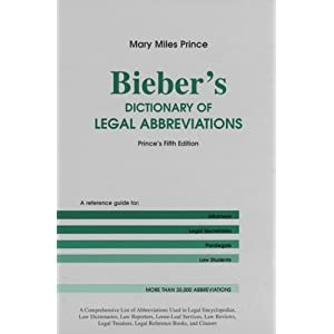 How to cite a legal dictionary