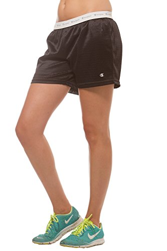 Champion Women's Lined mesh active shorts Black XL