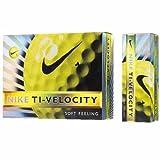 NIKEGOLF(ナイキゴルフ) 2013年モデル ボールTI-VELOCITY 12個入 イエロー GL0612-701