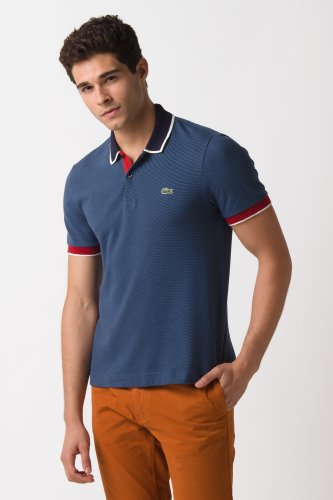 L!ve Short Sleeve Semi Fancy Pique Polo