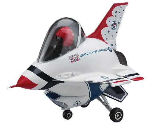 HASEGAWA 60124 Egg Plane F-16 Fighting Falcon Thunderbirds - 1