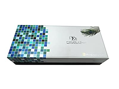 Royale Peacock Classic Hair Straightener / Flat Iron176°f to 450°f with 100% Ceramic Plates
