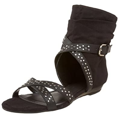 Chinese Laundry Women's Sweet Dream Sandal,Black,5 M US