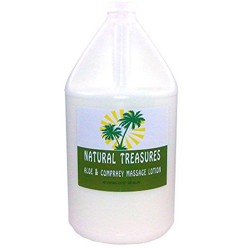 128-ounces-one-gallon-aloe-comphrey-massage-lotion-coconut-oil-base