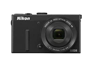 Nikon COOLPIX P340 12.2 MP Wi-Fi CMOS Digital Camera with 5x Zoom NIKKOR Lens and Full HD 1080p Video (Black)