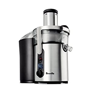 Breville BJE510XL Ikon 900-Watt Variable-Speed Juice Extractor