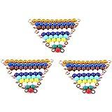 Montessori (3 Sets) Of Colored Bead Stairs 1-10 By PinkMontessori
