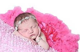 Huggalugs Baby Girls Pettiskirt Newborn Bubblegum