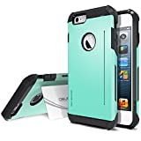 iPhone 6 Case, Obliq [Card Kickstand] iPhone 6 (4.7) Case [SkyLine Pro][Mint] Armor Slim Fit Dual Layer Hard Case Cover- Best Apple iPhone 6 Case for 4.7 Inch (2014)-(Does NOT fit iPhone 5 5S 5C 4 4s or iPhone 6 Plus 5.5 inch screen)