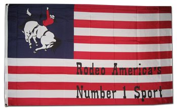 Rodeo - Novelty flags