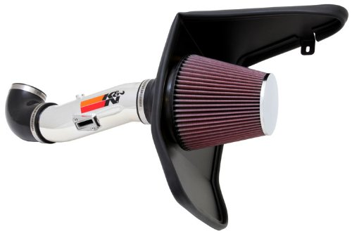 K&N Performance Cold Air Intake Kit 69-4523TP with Lifetime Filter for Chevrolet Camaro 3.6L V6 (2015 Camaro Cold Air compare prices)