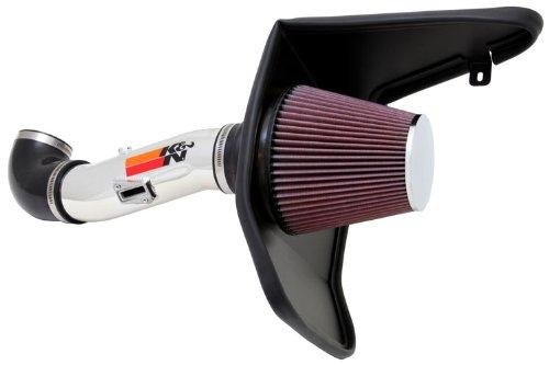 K&N Performance Cold Air Intake Kit 69-4523TP with Lifetime Filter for Chevrolet Camaro 3.6L V6 (2012 V6 Camaro Intake compare prices)