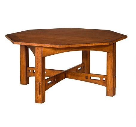 Buy Low Price Artisan Ridge Octogonal Coffee Table Broyhill 4078 013 4078 013 Coffee Table