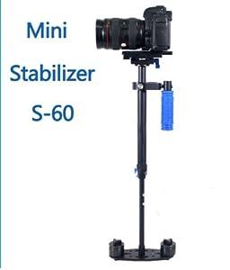 Professional Mini Handheld stabilizer S-60 For Professional Camcorder DV Video Digital SLR Cameras