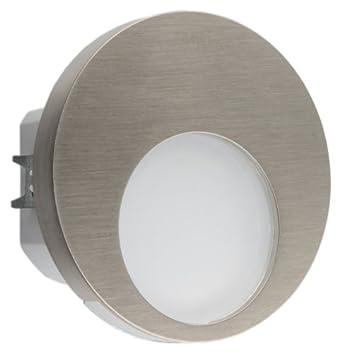 led einbauleuchte muna edelstahl als wandleuchte oder treppenlicht treppenbeleuchtung betriebsspannung 230v ac lichtfarbe warmweiss