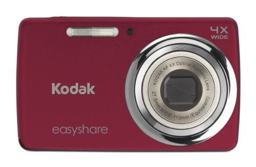 Kodak EasyShare M532 14 MP Digital Camera with 4x Optical Zoom and 2.7-Inch LCD - Red (New Model)
