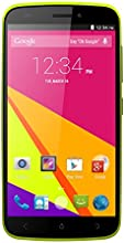 BLU Life Play 2, 1.3GHz Quad Core, Android 4.4 KK, 4G HSPA+ with 8MP Camera - Unlocked (Yellow)