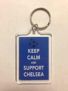 Chelsea F.C - Keep Calm Key Ring