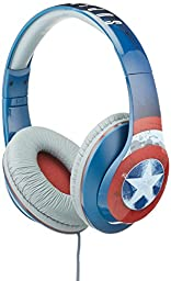Avengers Captain America Vi-M40CA.FX Over Ear Headphones with V Built-in Microphone