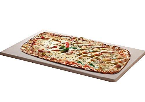 Pizzastein für Backofen & Gas Grill nur 1 cm dick Corderiet 45 x 35 cm