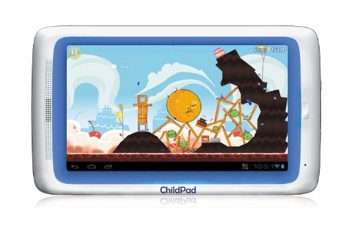 Archos ChildPad 7-Inch 4 GB Tablet (White with Blue Trim) at Electronic-Readers.com