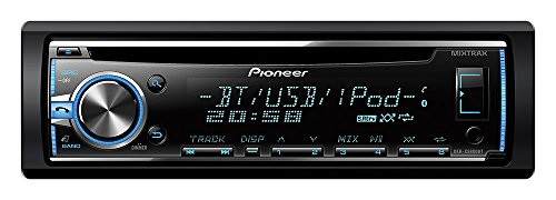 Pioneer DEH-5800BT SintoCD USB con Bluetooth, Compatibilità AOA 2.0 e Apple, Controllo iPod/iPhone e Display Multicolore