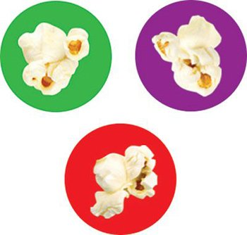 Popcorn Time superSpots Stickers