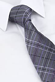 Ultimate Pure Silk Textured Checked Tie