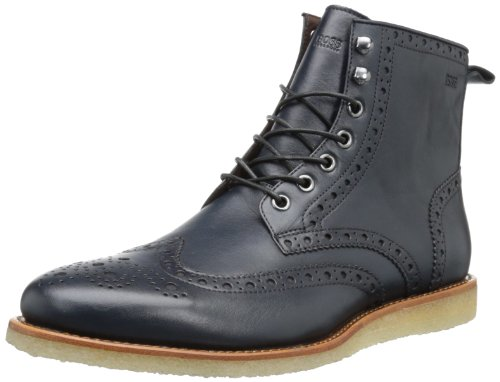 BOSS HUGO BOSS Men's Cardells Boot,Dark Blue,9 M US